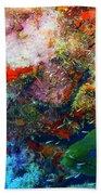 Coral Eel Beach Towel