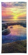 Coral Pools Beach Towel