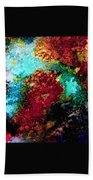 Coral Reef Impression 15 Beach Towel