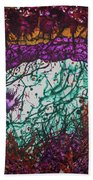 Coral Sunset Beach Towel