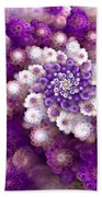 Coraled Blooms Beach Towel
