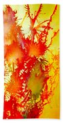 Corals In Sunrise  Beach Towel