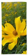 Coreopsis Beach Towel