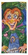 Corey The Lepperchaun Lucky Charms Beach Towel