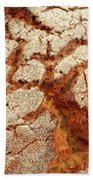 Corn Bread Crust Beach Towel