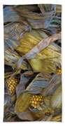 Corn Crops Beach Towel