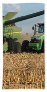 Corn Harvest Beach Towel