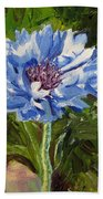 Cornflower Beach Towel