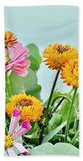 Cornflowers 20 Beach Towel