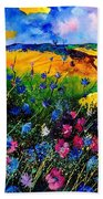 Cornflowers 680808 Beach Towel