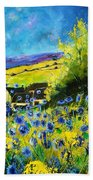 Cornflowers In Ver Beach Towel