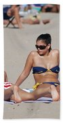 Corona Strips Beach Towel