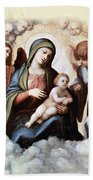 Correggio Painting Beach Towel