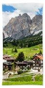 Cortina D'ampezzo, Italy Beach Towel