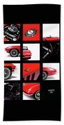 Corvette 1965 Beach Towel