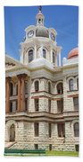 Coryell County Courthouse Beach Towel