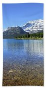 Cosley Lake Outlet - Glacier National Park Beach Sheet