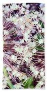 Cosmic Blooms Beach Towel