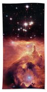 Cosmic Cave Beach Towel by Jennifer Rondinelli Reilly - Fine Art Photography