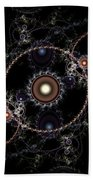 Cosmic Clockworks Beach Towel