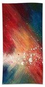 Cosmic Disturbance Beach Towel