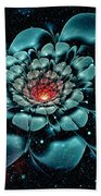 Cosmic Flower Beach Towel