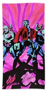 Cosmic Guardians Of The Galaxy 2 Beach Towel