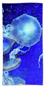 Cosmic Jellies Beach Towel