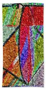 Cosmic Lifeways Mosaic Beach Towel