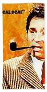 Cosmo Kramer The Real Deal Beach Towel