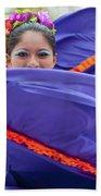 Costa Maya Dancer II Beach Towel