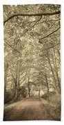 Cosy Path Beach Towel