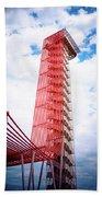 Cota Towering Tower  Beach Towel