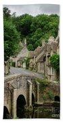 Cotswolds Village Castle Combe Beach Sheet
