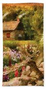 Cottage - There's No Place Like Home Beach Towel
