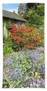 Cottage Garden Beach Towel