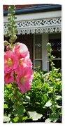 Cottage Garden.  Beach Towel
