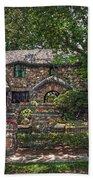 Fairy Cottage Beach Towel