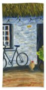 Cottage Life Beach Towel