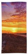 Cotton Candy Sea Salt Beach Towel