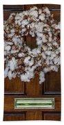 Cotton Wreath Beach Towel