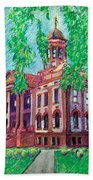 Cottonwood County Courthouse  Beach Towel