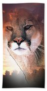 Cougar View Beach Towel
