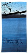 Count Your Blessings Beach Towel