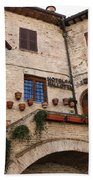 Country Charm Assisi Italy Beach Towel