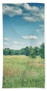 Country Fields Beach Towel