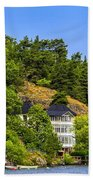 Country Homes Beach Towel