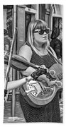 Country In The French Quarter 3 Bw Beach Towel