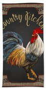 Country Kitchen-jp3764 Beach Towel