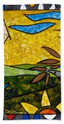 Country Peace Beach Towel